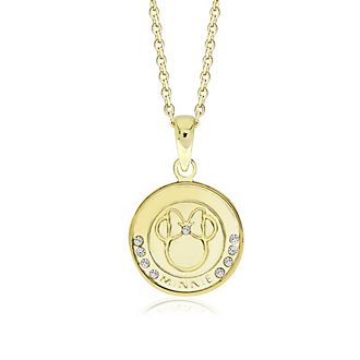 Collana placcata oro Minni