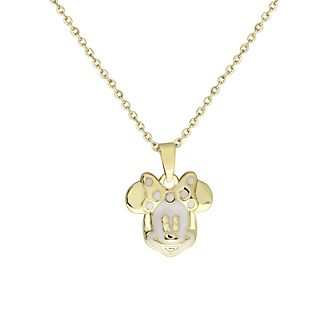 Collier Minnie Mouse plaqué or