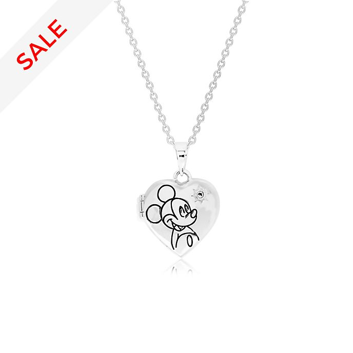 Mickey Mouse Silver-Plated Locket