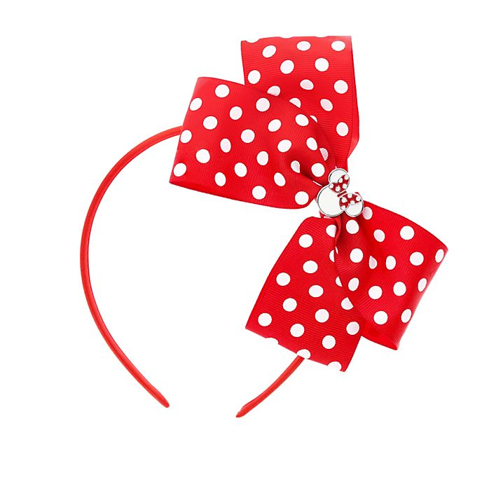 Minnie Mouse Red Bow Headband