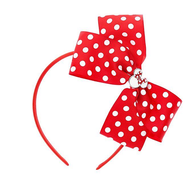 Minnie Maus - Haarreifen mit Schleife in Rot