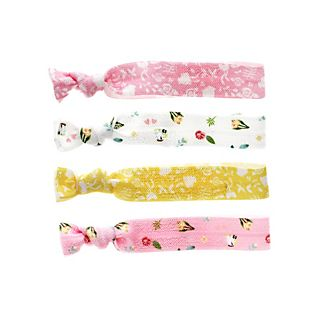 Disney Princess Belle Hair Bands, Pack of 4