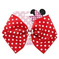Minnie Mouse Red Polka Dot Bow