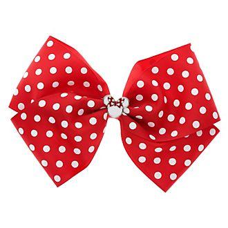 Noeud à pois rouge Minnie Mouse