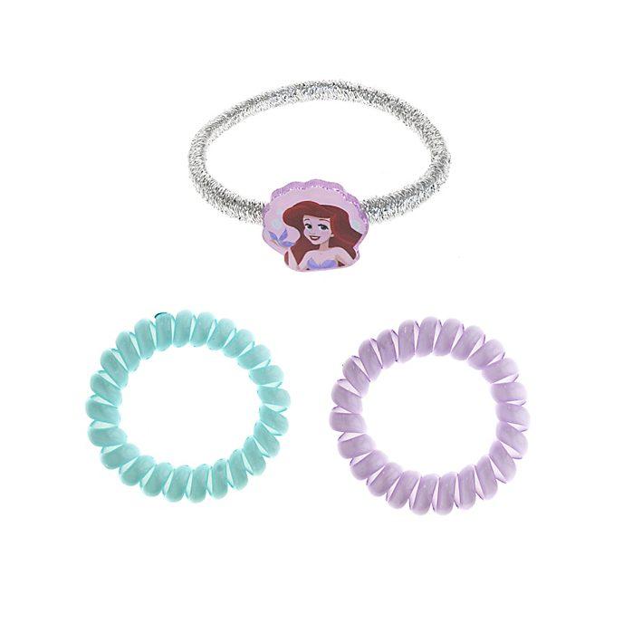 Gomillas de pelo La Sirenita, Princesa Disney (pack de 3)