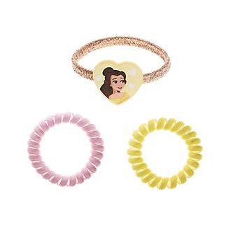 Gomillas de pelo, Bella, Princesa Disney (pack de 3)