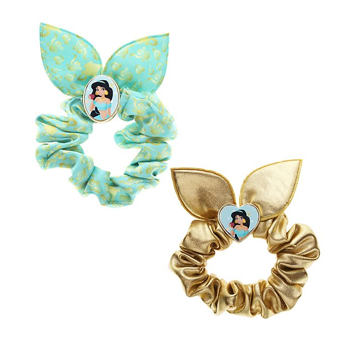 Gomas elásticas de pelo, Jasmine, Princesa Disney (pack de 2)