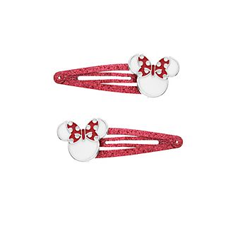 Minnie Mouse Hair Clips, Pack of 2