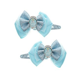 Lot de 2 barrettes à noeud Cendrillon, Disney Princesses