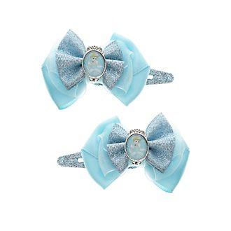 Disney Prinzessin - Cinderella - Haarspangen mit Schleife, 2er-Pack