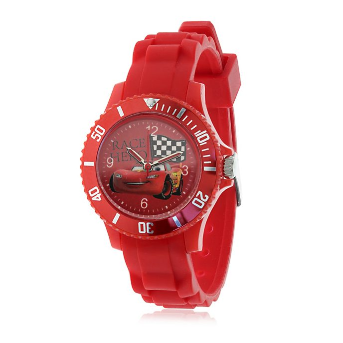 Disney Pixar Cars Silicone Watch For Kids