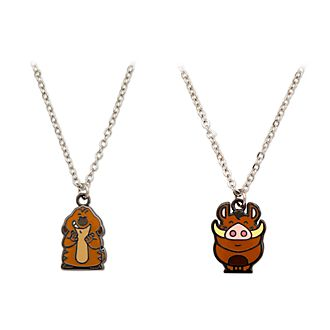 Disney Store The Lion King Necklaces, Set of 2
