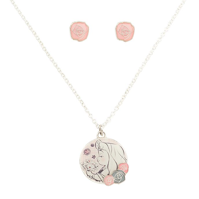 Disney Store Disney Animators' Collection Sleeping Beauty Jewellery Set