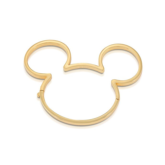 Couture Kingdom Mickey Mouse Gold-Plated Bangle