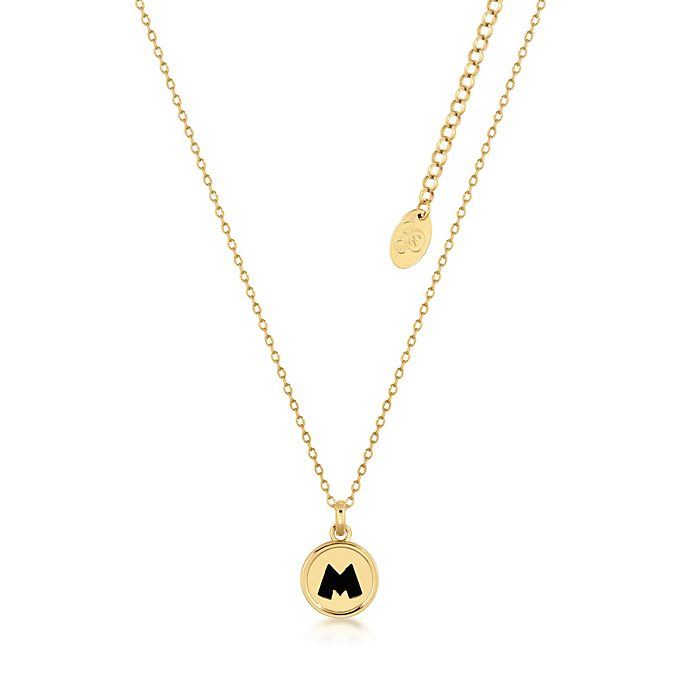 Couture Kingdom Mickey Mouse Gold-Plated Pendant Necklace