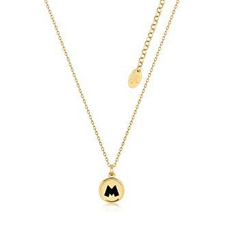 Collar con colgante bañado en oro Mickey Mouse, Couture Kingdom