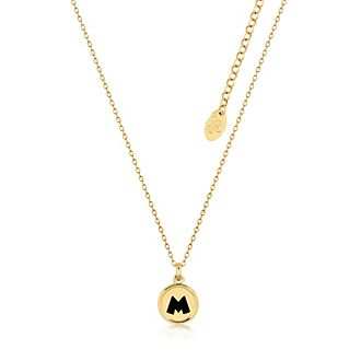 Couture Kingdom Collier plaqué or à pendentif Mickey Mouse
