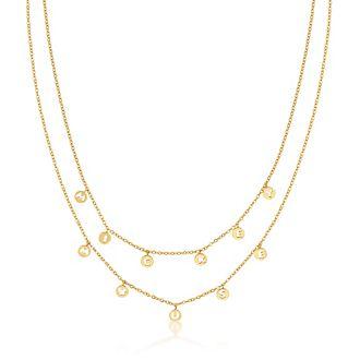 Couture Kingdom - Micky Maus - Gelbvergoldete Halskette