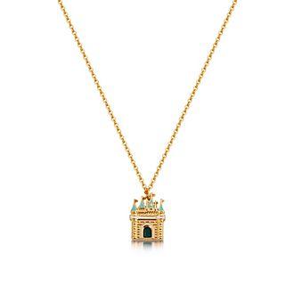 Collar con colgante bañado en oro Cenicienta, Couture Kingdom