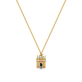 Couture Kingdom Cinderella Gold-Plated Pendant Necklace