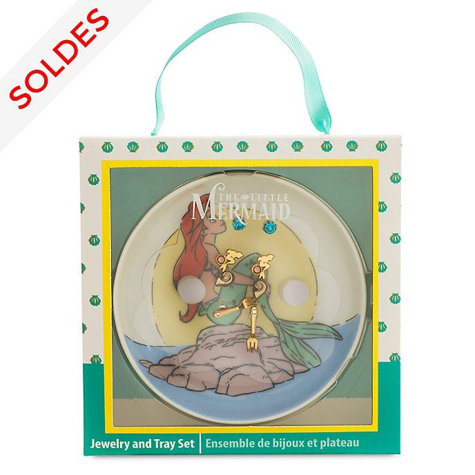 Disney Store Bijoux avec présentoir La Petite Sirène