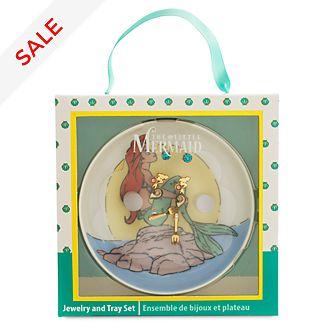 Disney Store - Arielle, die Meerjungfrau - Schmuckset mit Ablage