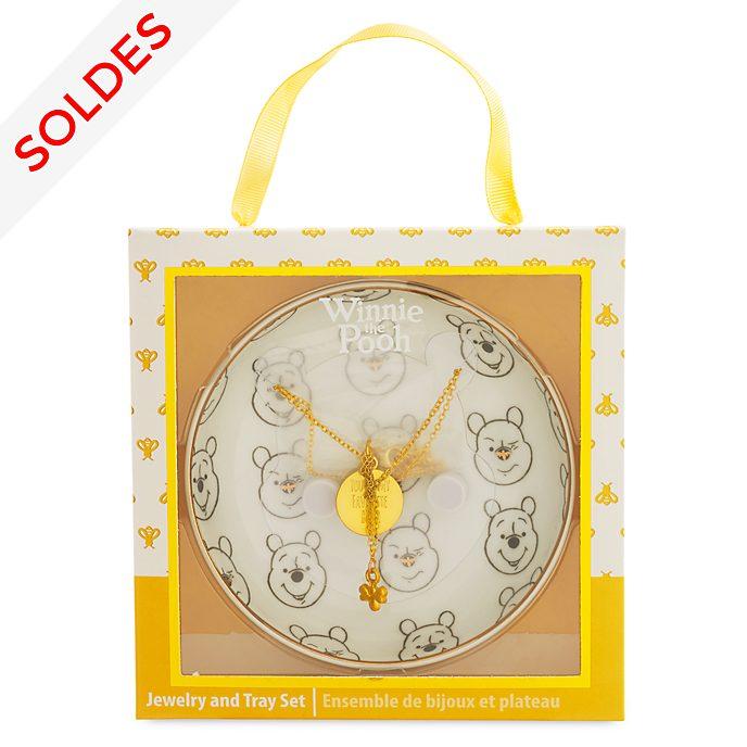Disney Store Collier avec présentoir Winnie l'Ourson