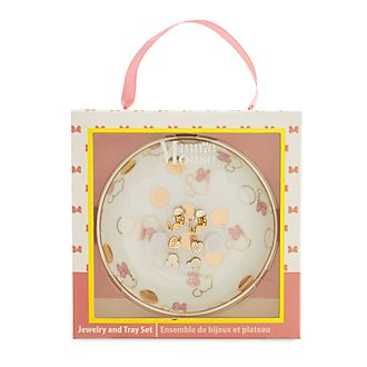 c2dbe6c1163 Disney Store Minnie Mouse Jewellery and Tray Set