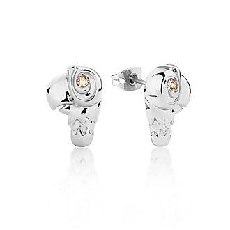 Couture Kingdom orecchini placcati oro bianco pappagallo Il Ritorno di Mary Poppins