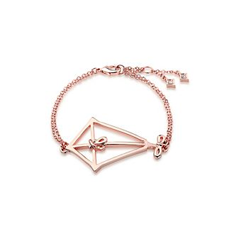 Couture Kingdom Mary Poppins Returns Kite Rose Gold-Plated Bracelet