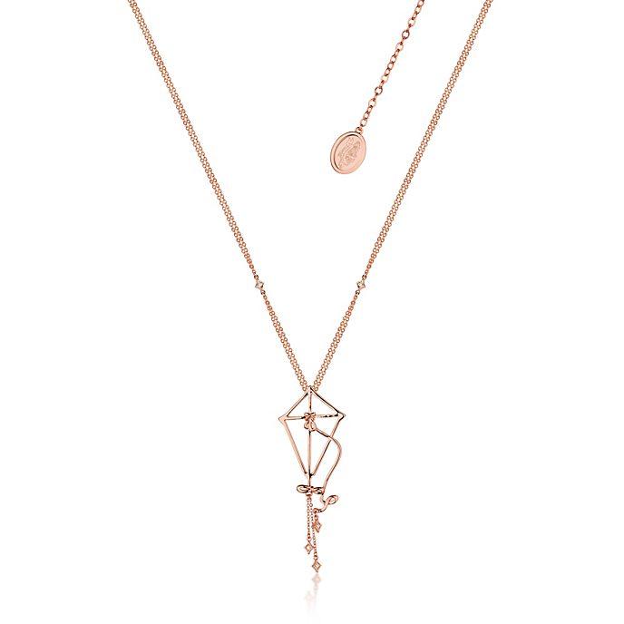 Couture Kingdom collana placcata oro rosa aquilone Il Ritorno di Mary Poppins