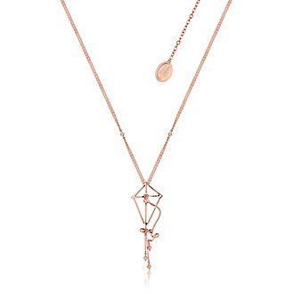 Collar bañado en oro rosa cometa, El regreso de Mary Poppins, Couture Kingdom