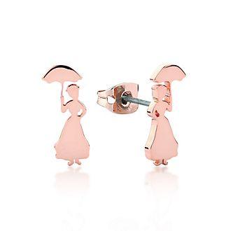 Couture Kingdom Boucles d'oreilles Le retour de Mary Poppins plaquées en or rose
