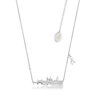 Couture Kingdom Mary Poppins Returns London Skyline White Gold-Plated Necklace