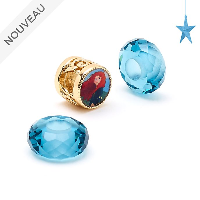 Disney Store Ensemble de perles Merida Disney Princess Charm, Octobre