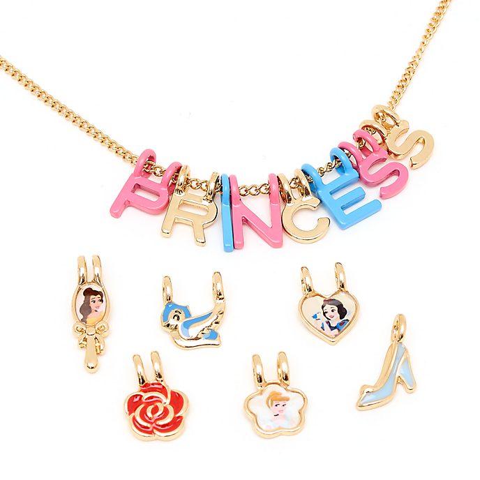 Collana con charm Principesse Disney