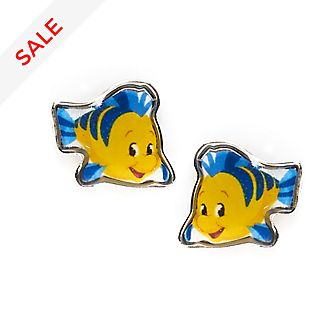 Disney Store Flounder Stud Earrings