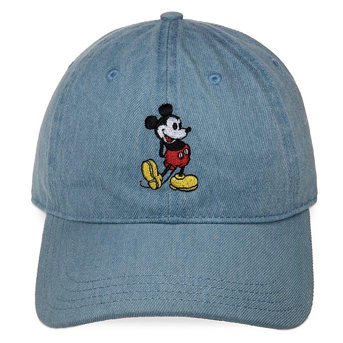 Disney Store Casquette en jean Mickey pour adultes