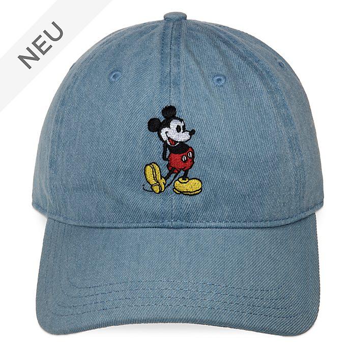 Disney Store - Micky Maus - Denim-Mütze für Erwachsene