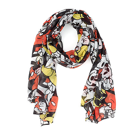 Mickey and Minnie Mouse Scarf