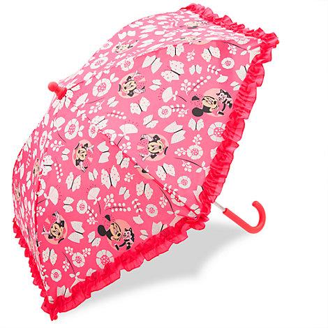 Minnie Maus - Regenschirm mit Farbwechsel für Kinder