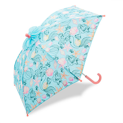 Paraguas infantil que cambia de color La Sirenita