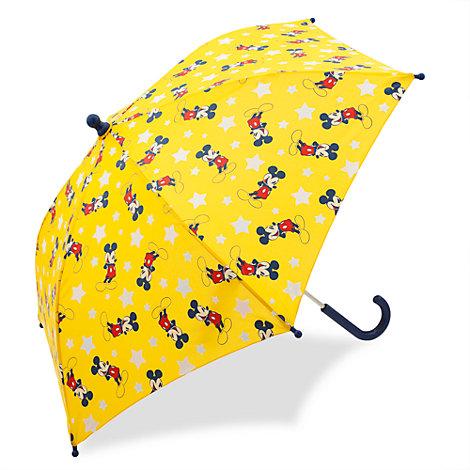 Micky Maus - Regenschirm mit Farbwechsel für Kinder