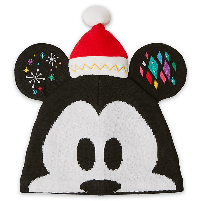 Disney Store Chapeau Mickey Mouse en maille pour adultes, collection Share the Magic