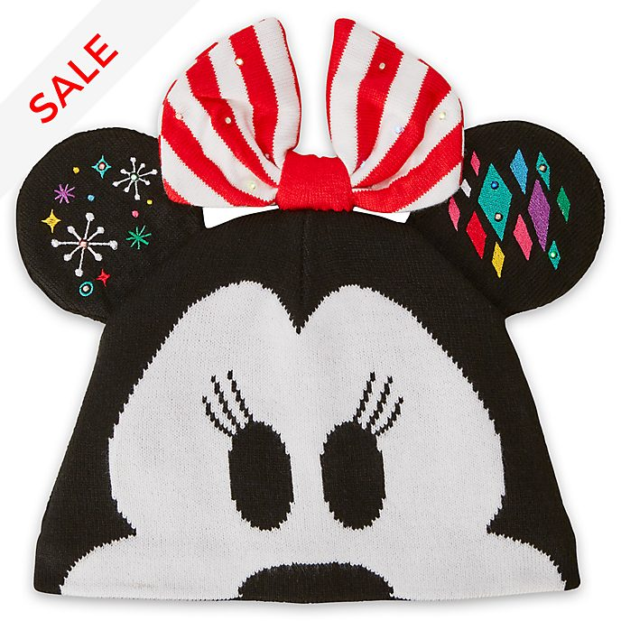 Disney Store Minnie Mouse Share the Magic Knitted Hat For Adults