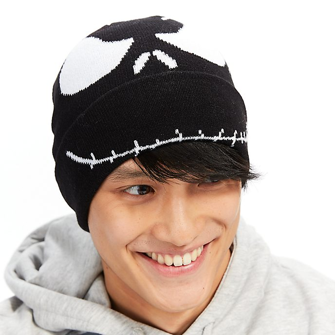 5a1fa45b02077 Disney Store Jack Skellington Beanie Hat For Adults