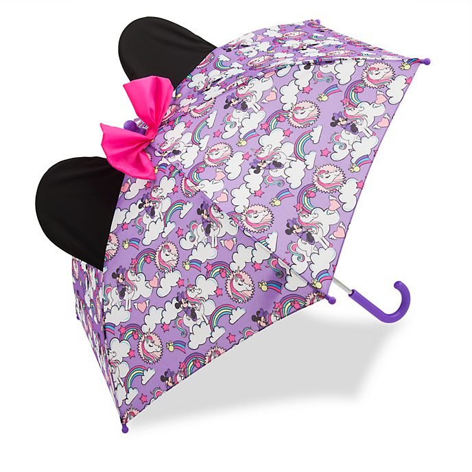 Disney Store Minnie Mouse Umbrella For Kids