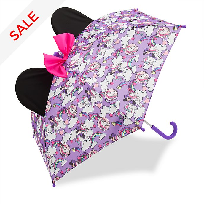 Disney Store Minnie Mouse Umbrella For Kids