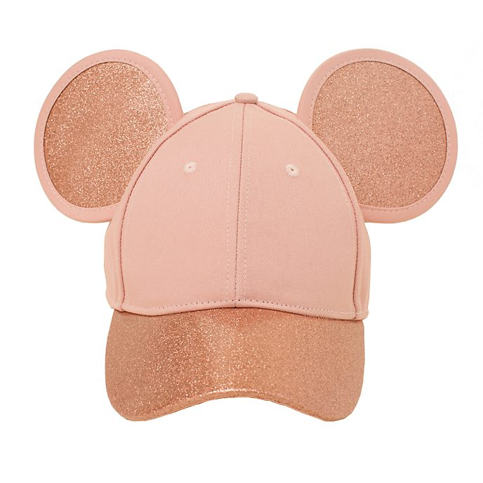 Cakeworthy Mickey Mouse Rose Gold Cap For Adults