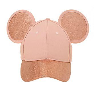 Gorra rosa dorado Mickey Mouse para adultos, Cakeworthy